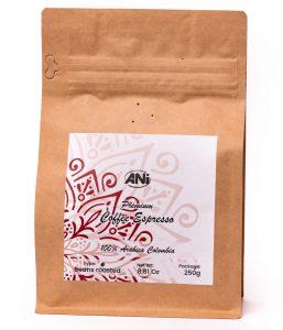 Espresso - Columbia 250 g celé zrno