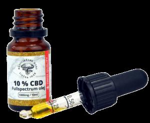 10% CBD v MCT oleji, Full Spectrum, 10 ml