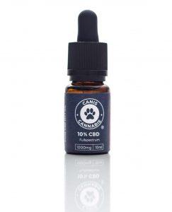 Širokospektrálny 10% CBD olej pre psov - CANIS CBD