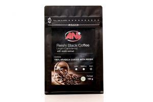 Čierna káva s Reishi, 100g, čierny sáčok, doypack
