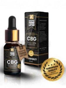 CBG olej 20%, Konopná farma liptov