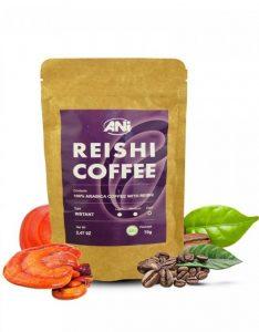 čierna káva s Reishi, 70g, ANi
