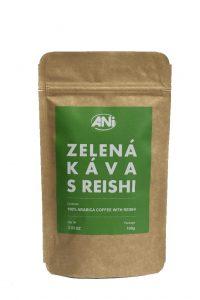 zelená káva s Reishi, 100g